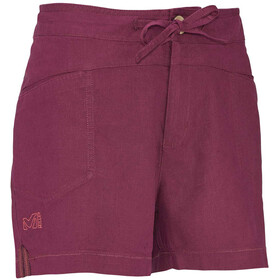 Millet W's Rock Hemp Shorts Velvet Red